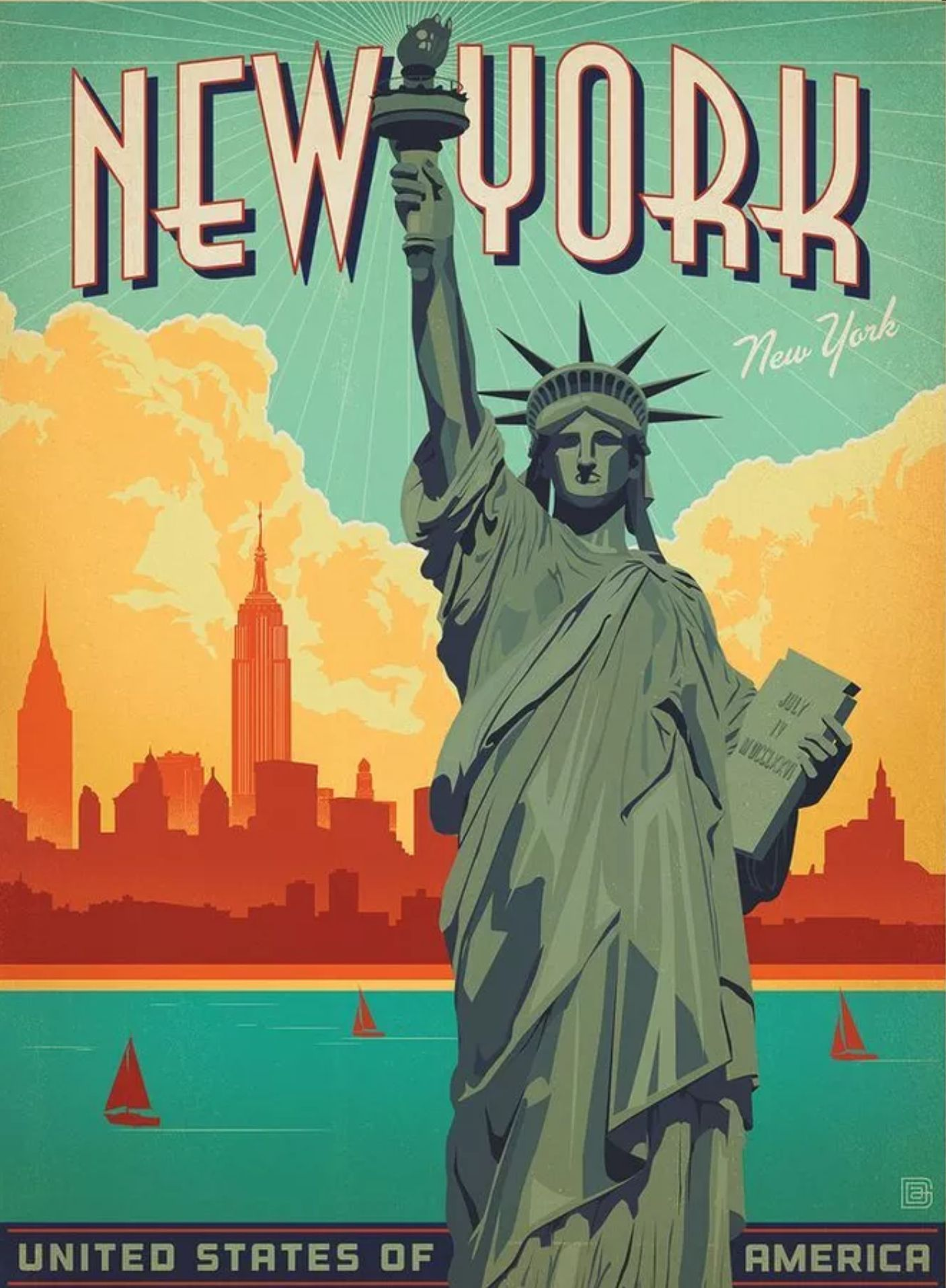 New York City Vintage Posters