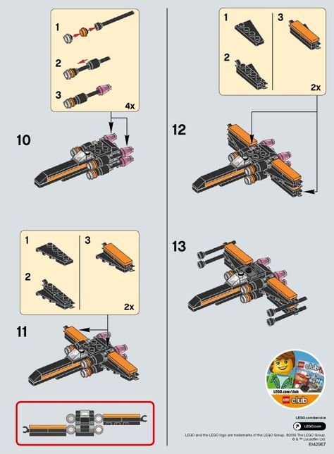 Star Wars Poes X Wing Fighter Lego 30278 Lego Pinterest