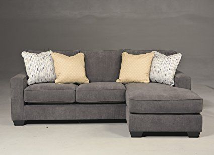Ashley Hodan - Sofa Chaise with Pillows Included Loose Seat Cushions ...