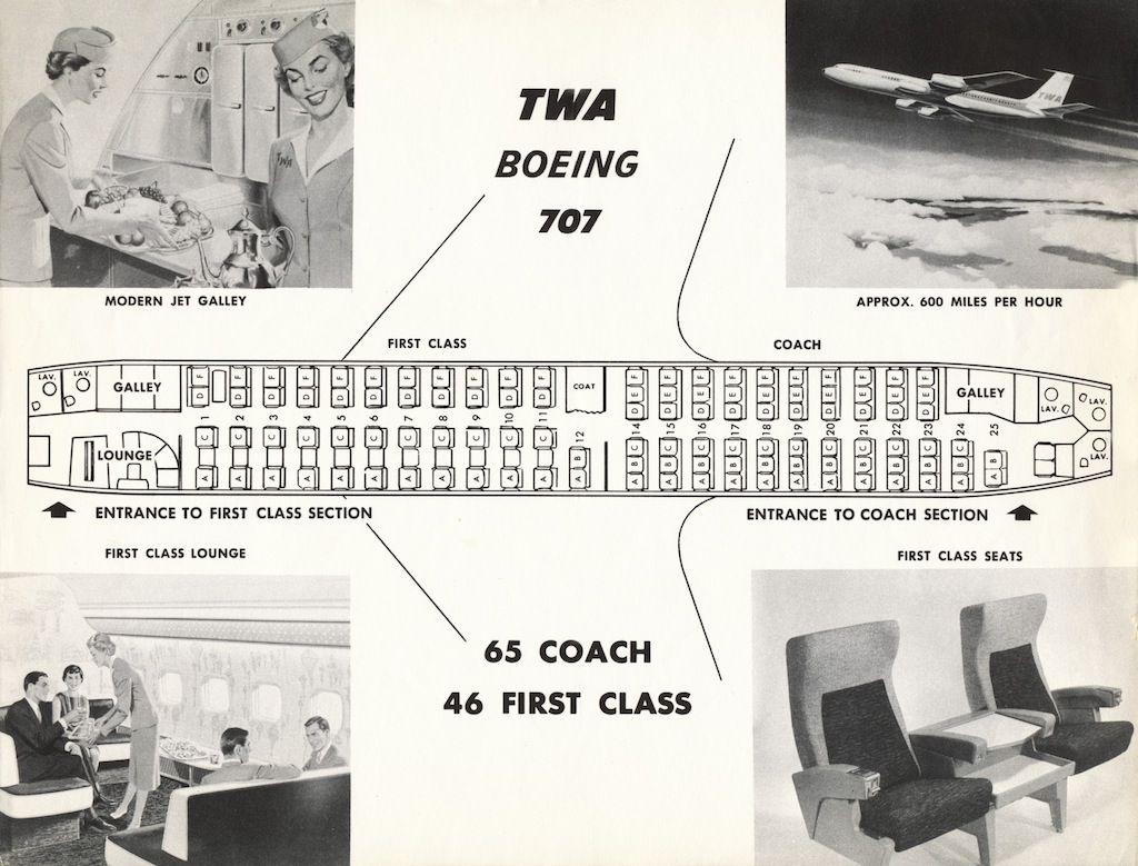 707seatchart1.jpg (1024×779) Vintage Airliner Seat