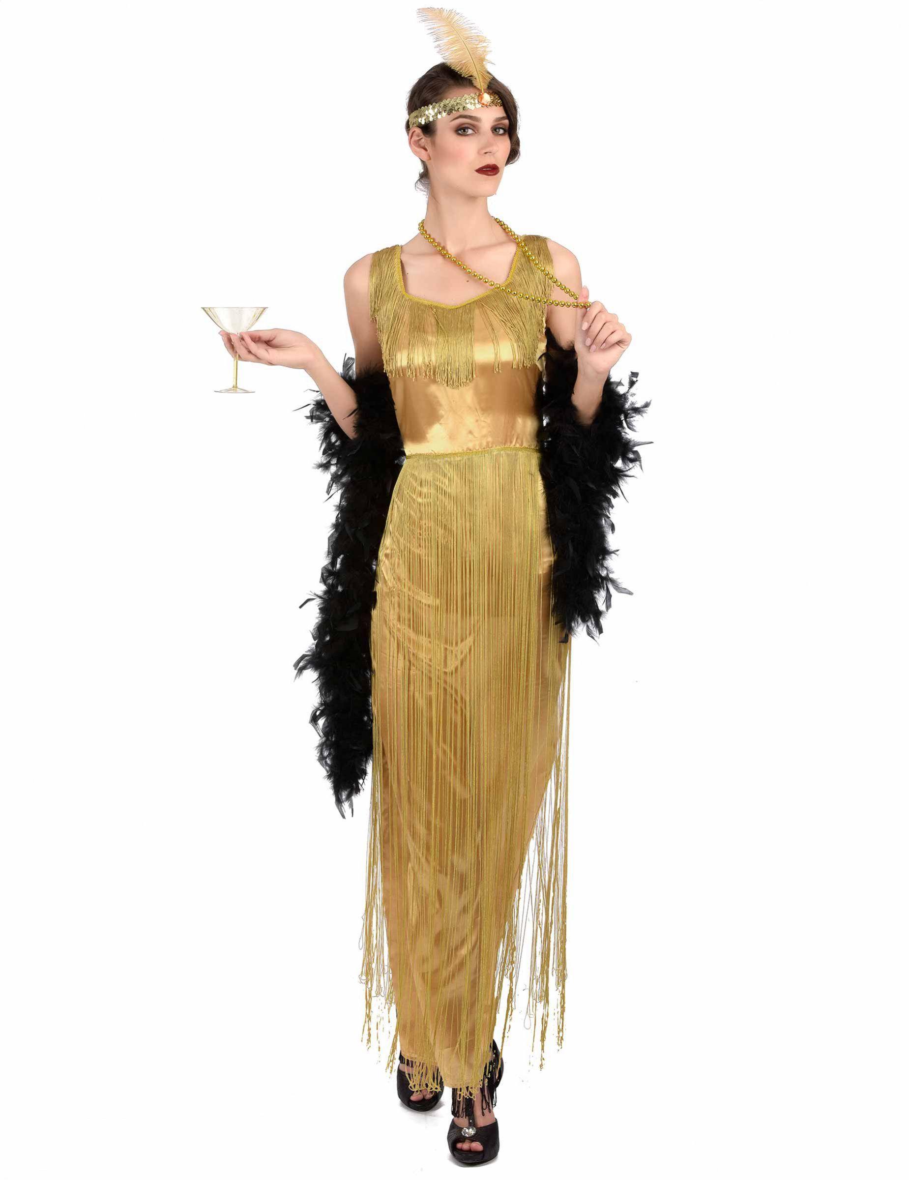 Karnevalskostum charleston kleid fur damen