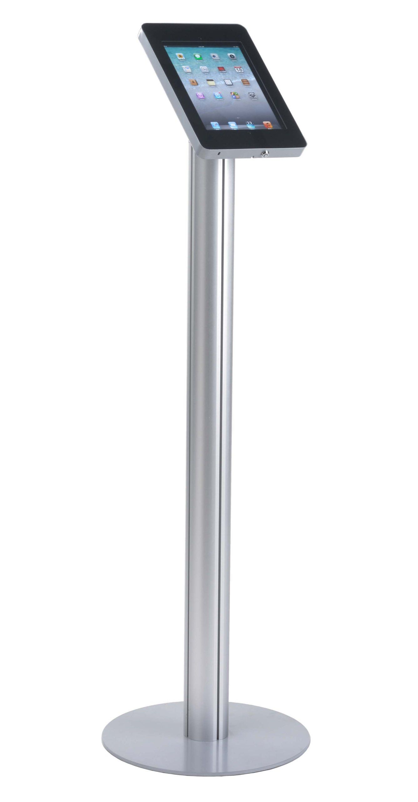 Displays2go Pedestal Stand for iPad 2, 3, 4, and Air