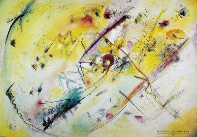 Wassily Kandinsky Helles Bild
