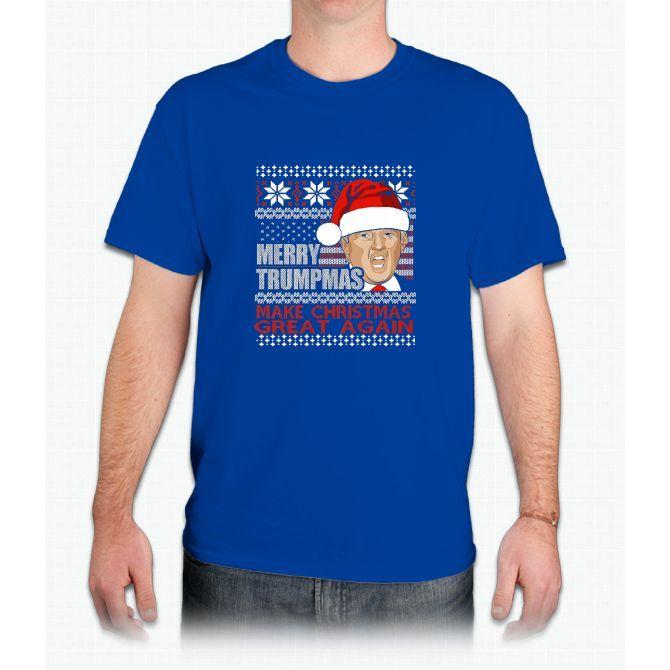 Merry Trumpmas 2016: Make Christmas great again T-shirt - Mens T-Shirt