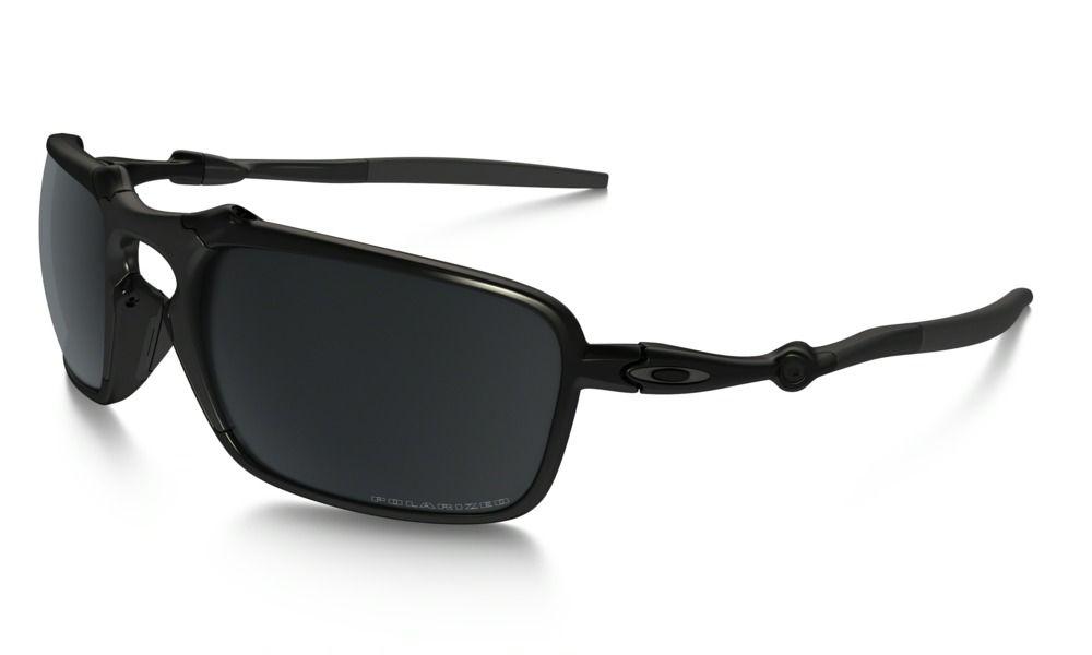 cd9ac085e1 Shop Oakley Badman® Polarized in DARK CARBON   BLACK IRIDIUM POLARIZED at  the…