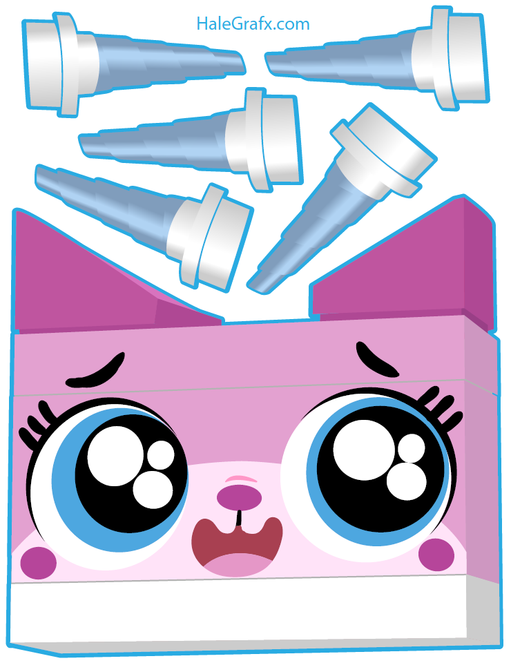 Pin By Crafty Annabelle On Unikitty Printables