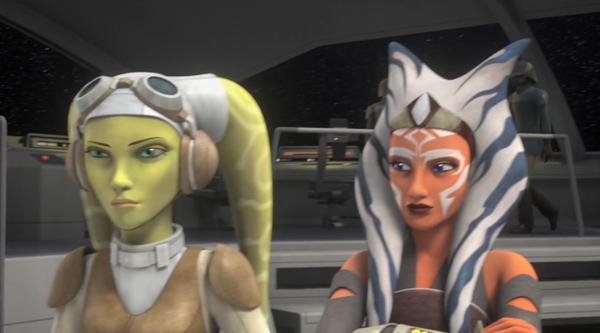 Ahsoka and Hera. Star wars fandom, Star wars women, Star