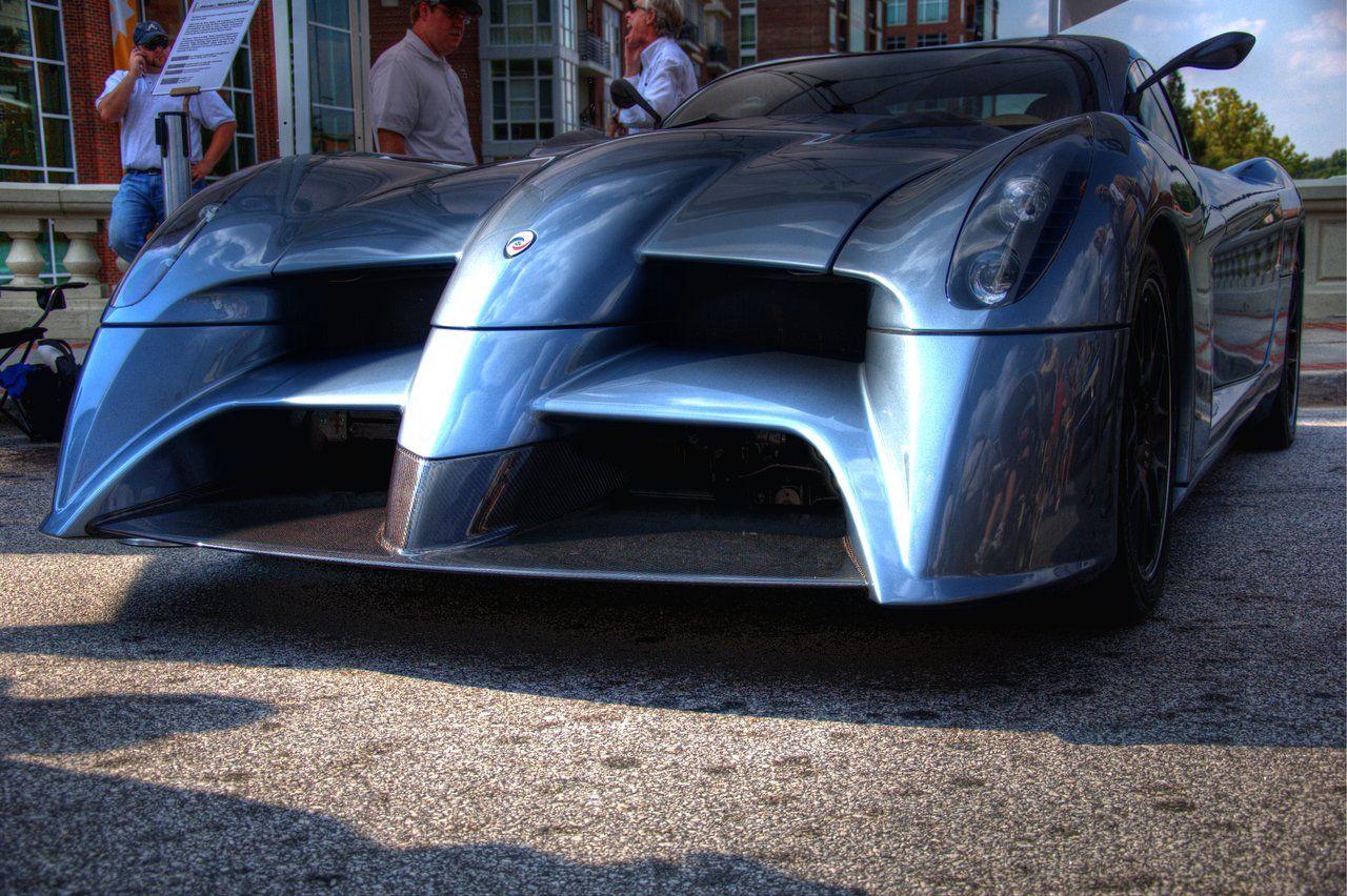 Panoz Abruzzi Spirit Of Le Man Le Mans Road Race Car Man