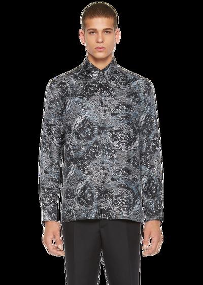 ac3305134f Astronomy Print Silk Shirt - A72C Clothing | Style Aestetics ...