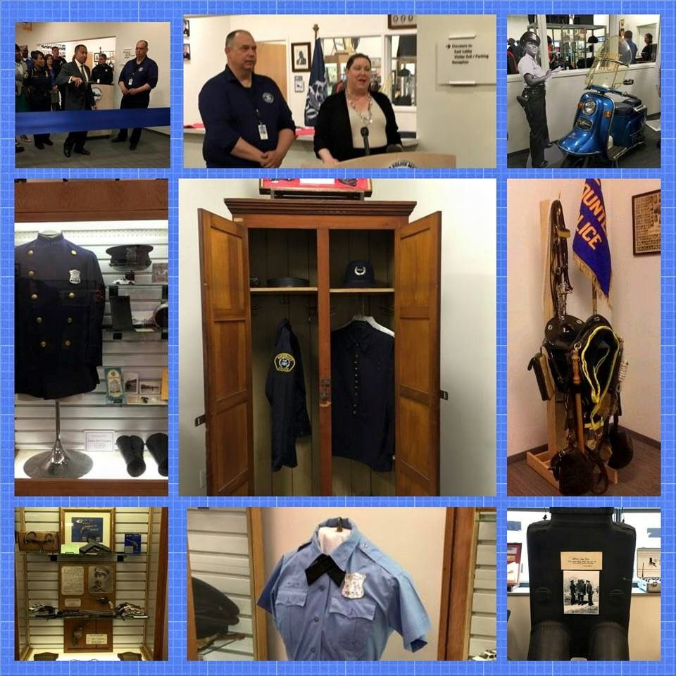 The Detroit Police Museum And Gift Shop Showcase Historical Items