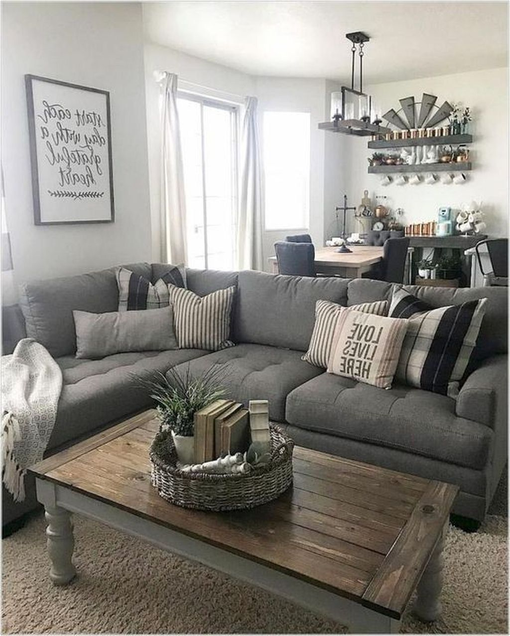 50 Beautiful Small Space Living Room Decoration Ideas Sweetyhomee Livingroom Farm House Living Room Small Living Room Decor Living Room Designs Small Spaces
