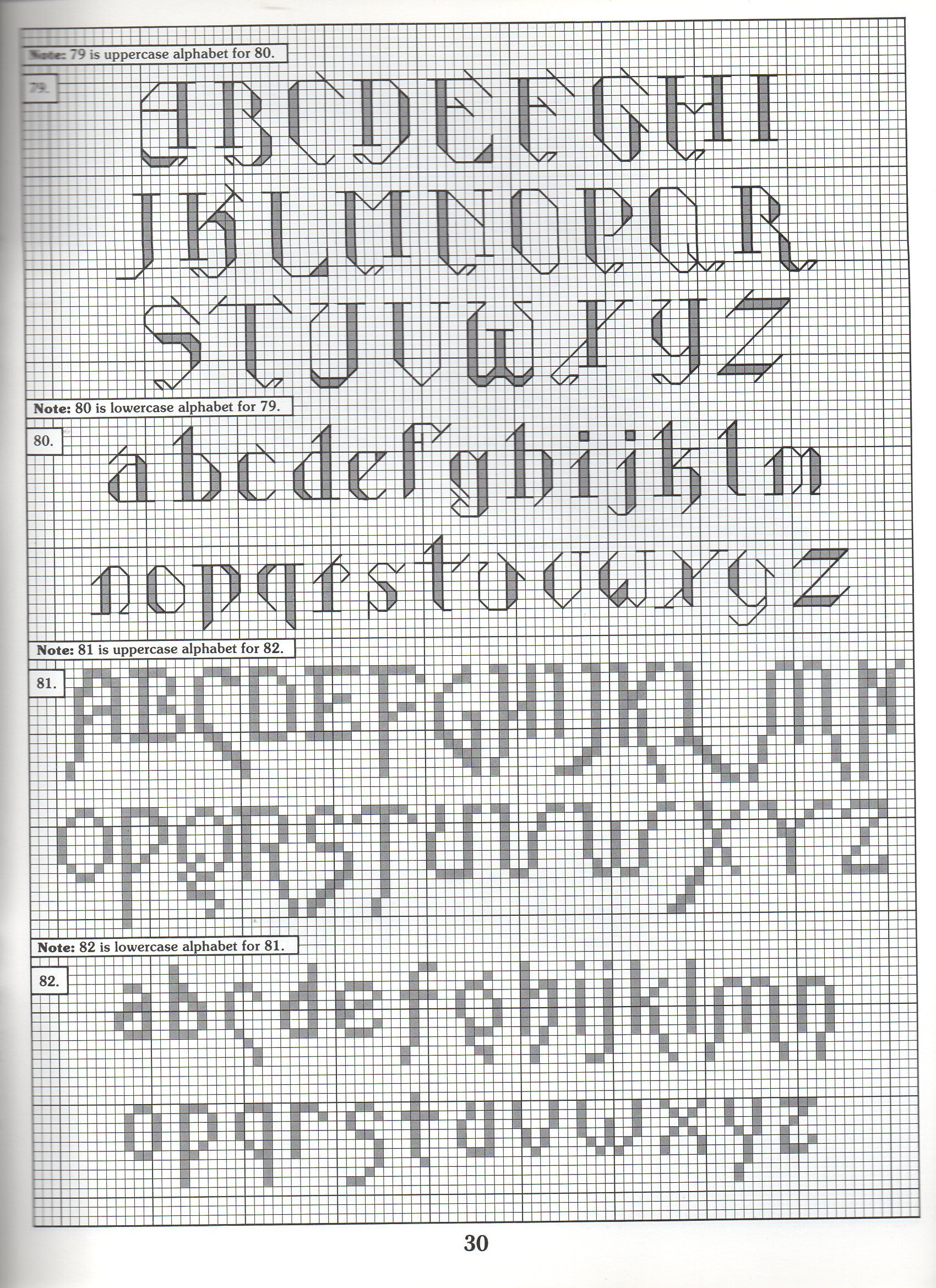 Cross Stitch Alphabet Patterns Amazing Decorating
