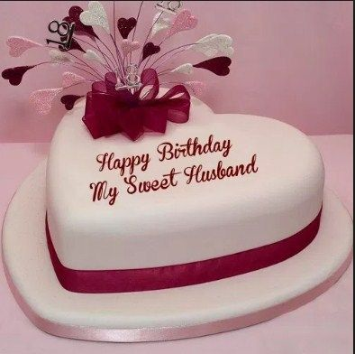 Heart Touching Birthday Wishes For Husband Birthday Cake For