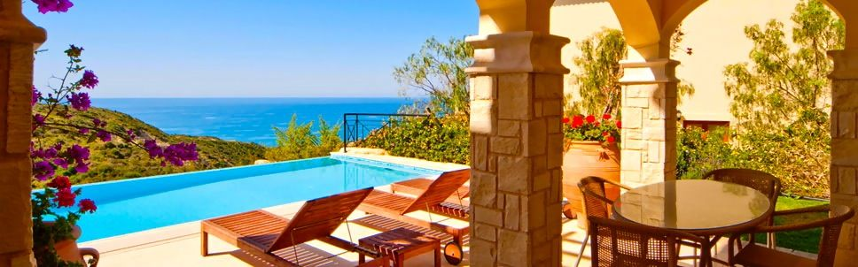 """Aphrodite Hills Resort Holiday Residences in the island of Cyprus. Aphrodite Hills Resort offers a true Mediterranean island experience in the most tranquil, unspoilt and secluded of surroundings. This is a perfect setting for a magical and unforgettable """"new-familymoon""""."""