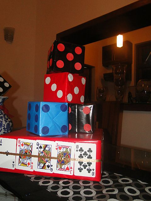 casino theme birthday party ideas - Casino Party Decorations