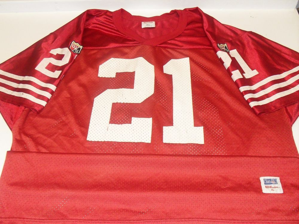 new product d8eb8 707bc Details about Vintage STEVE YOUNG SAN FRANCISCO 49ERS # 8 ...