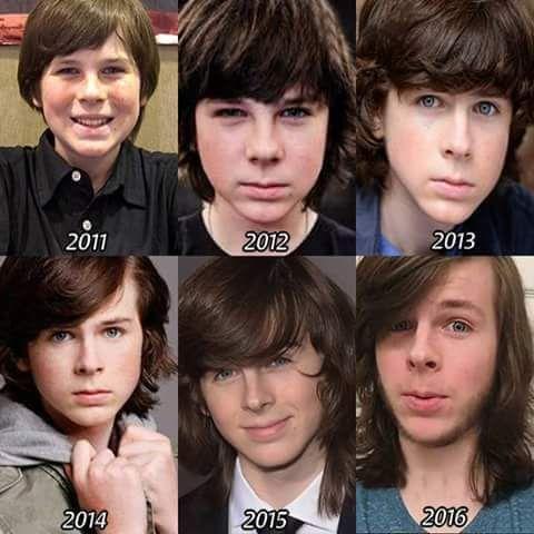 Chandler Riggs Transformation