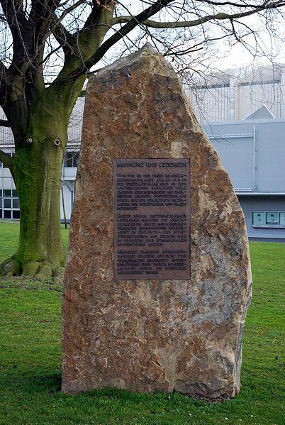 Gedenkstein Zwangsarbeiter Dortmund
