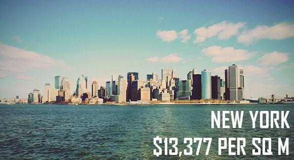 "New York property average price per square meter (Original image by ""Jahborgs"" via flickr)"