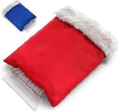 Eiskratzer aus Kunststoff (ABS) mit Schutz-Handschuh aus 210D Polyester Material:Handschuh: 100% Polyester Größen:One Size