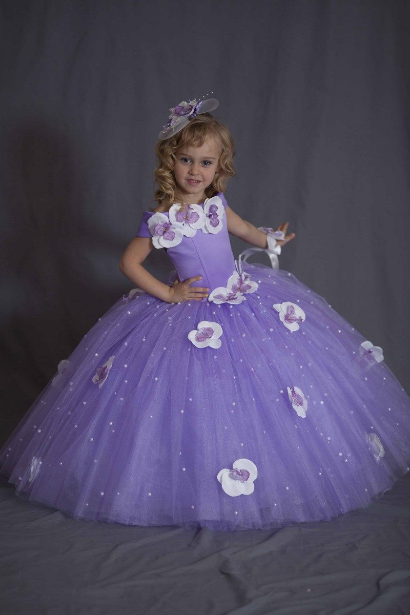 Красивые детские вечерние платья (46 фото) для девочек ...