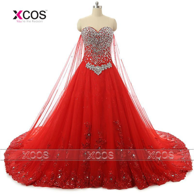 Aliexpress Com Buy Sl 82 Sweetheart Bling Bridal Gowns: Find More Wedding Dresses Information About Luxury