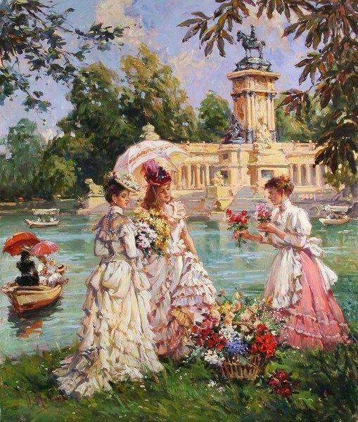 Painting Victorian Era Art