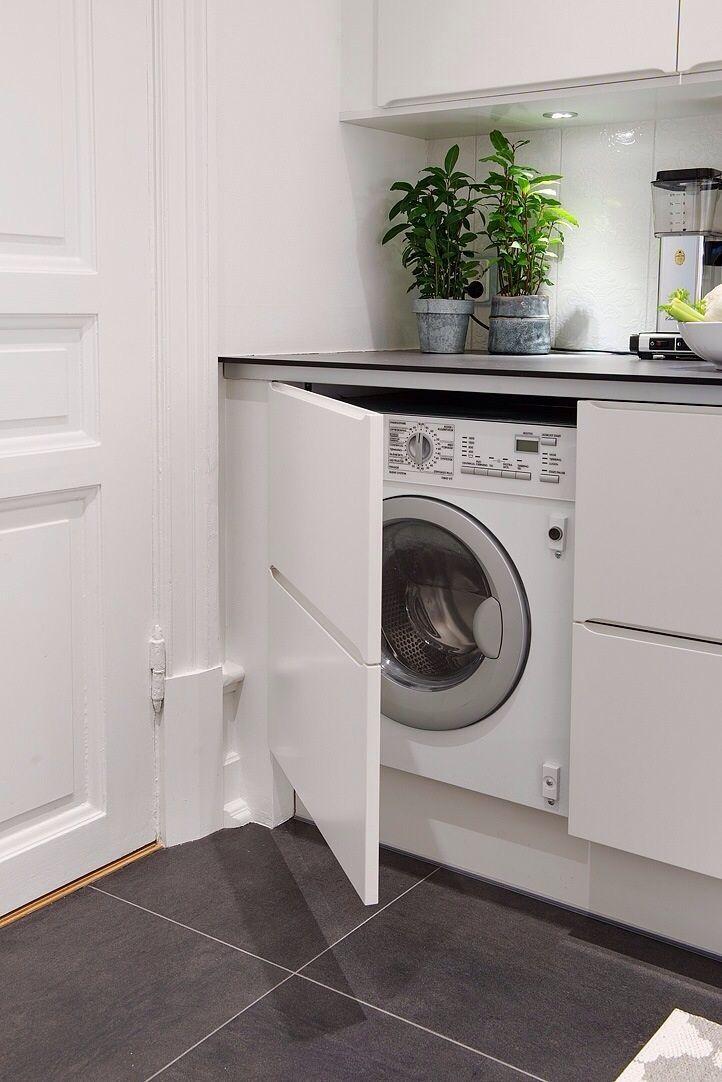 Lavanderias... Pequenos Espaços Com Soluções Charmosas E Inteligentes.  Laundry RoomsLaundry CupboardSmall ...
