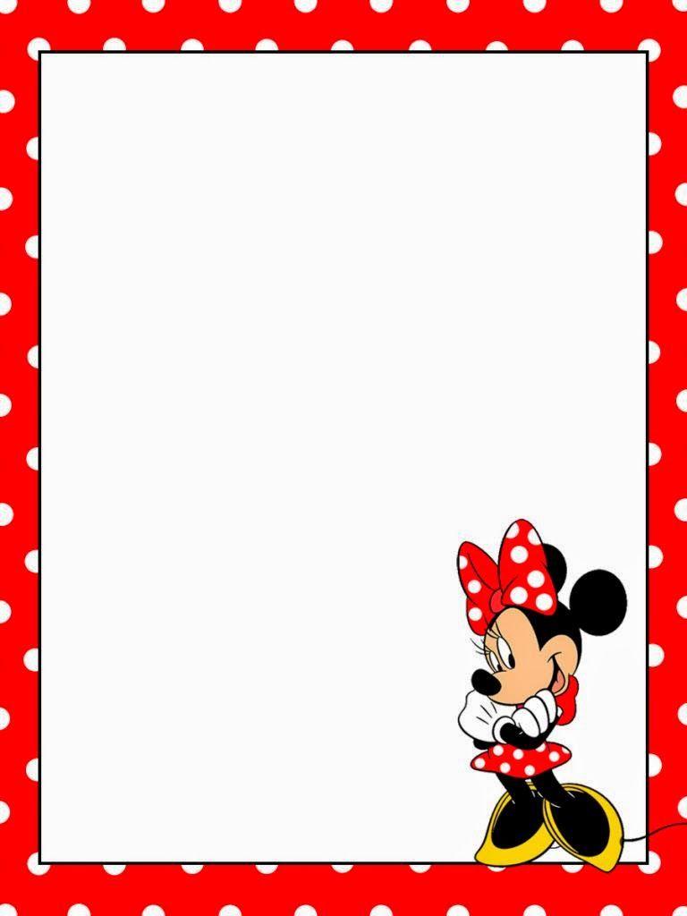 marcos para fotos de minnie roja - Buscar con Google   idejas ...