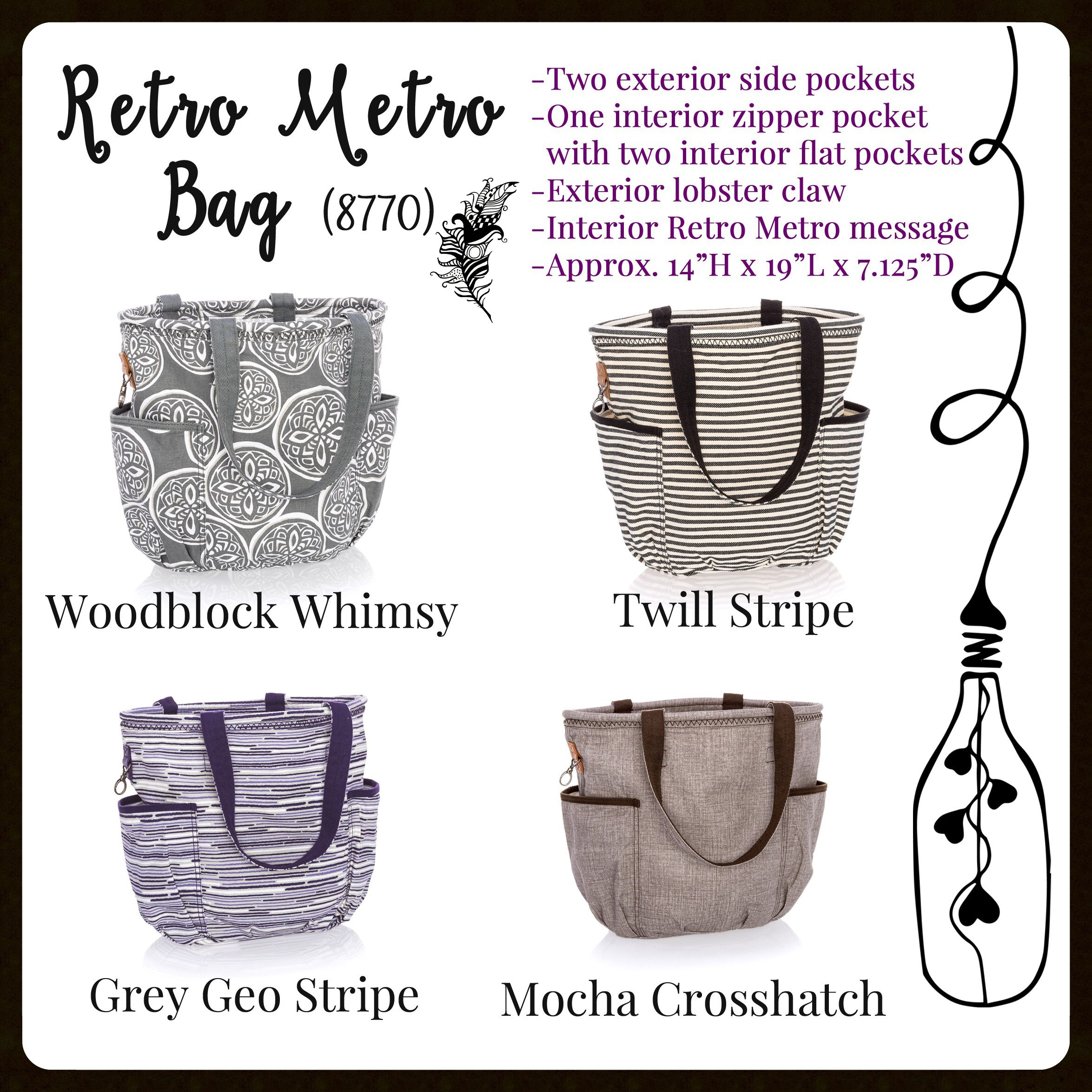 retro metro bag fall 2017 thirty one my 31 must haves