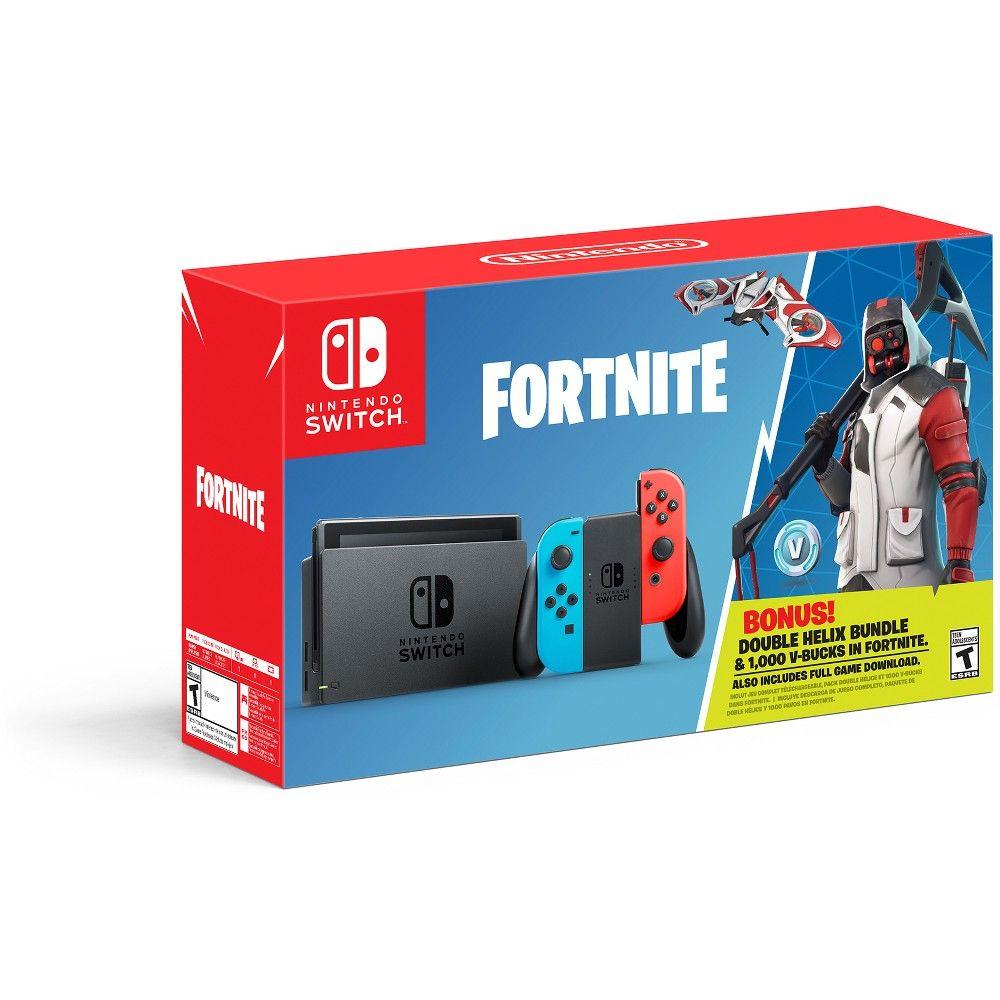 Nintendo Switch Fortnite Double Helix Bundle Target Buy Nintendo Switch Nintendo Switch System Nintendo