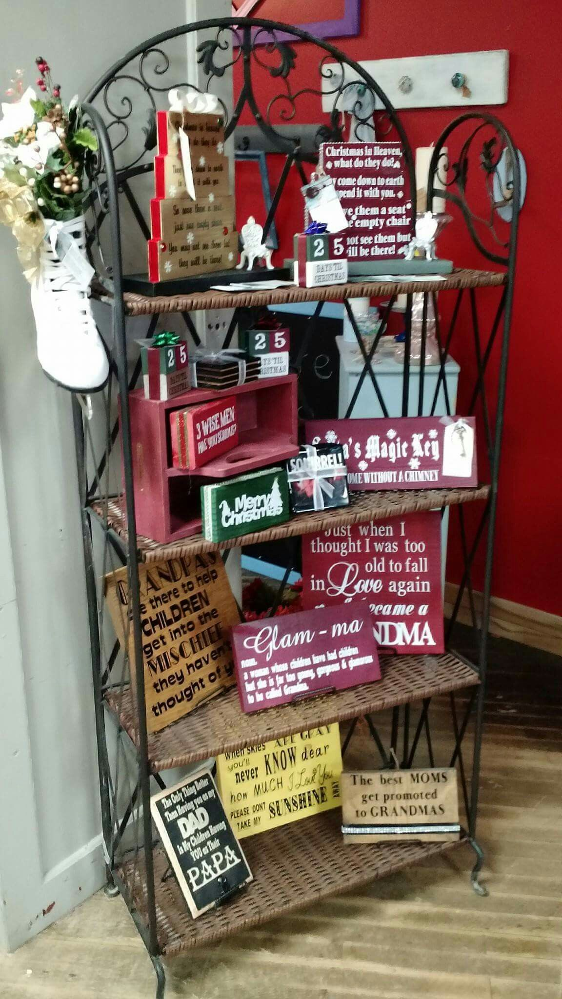 These are for sale at 6 S. Main Street Cedar Springs ...
