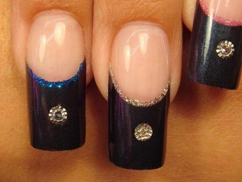 The Most Expensive Set Of Nails We Have Ever Created Espensivenails Nailart Diamonds Sapphires Rubys Acrylicnails Inve Acrylic Nails Nails Image Nails