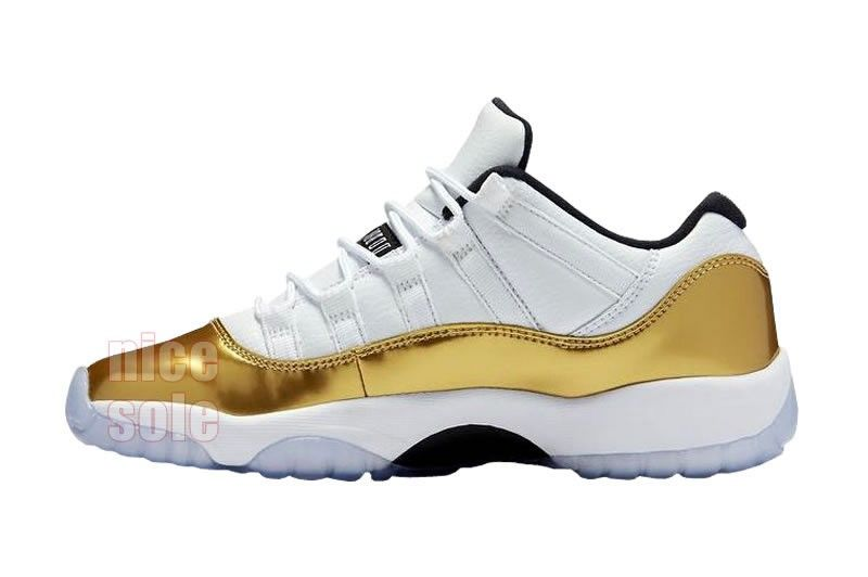 "1a6b487a740 Authentic Jordans Retro 11s Aj 11 ""Closing Ceremony"" ""White Gold""  528895-103 Men's"