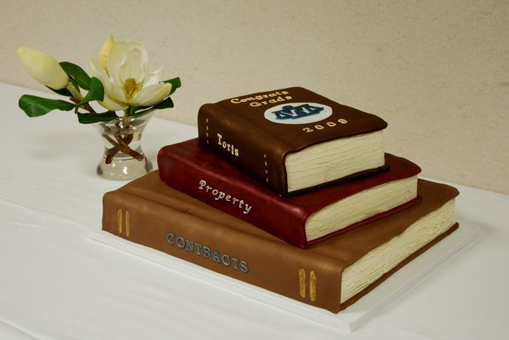 Book Cake I Made For My Brothers