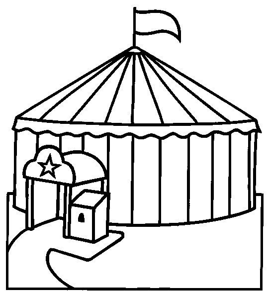 Disegni Da Colorare Circo 21 Circus Activities Circus Coloring Pages For Kids