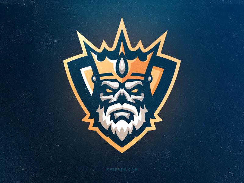 Hail To The King Fantasy Logo Fantasy Football Logos Sports Logo Design
