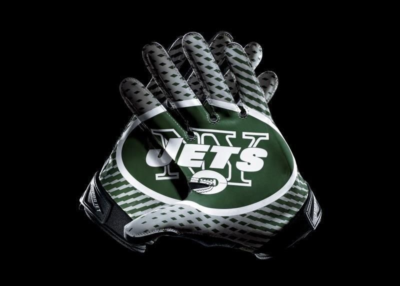 nike nfl jersey New York Jets Nike Team Authentic Series Vapor Jet Gloves.  Love the look of these amazing new Nike NFL gloves nfl jersey by nike