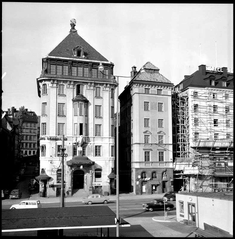 Skeppsbron 18-16. Foto: Lennart af Petersens, 1959