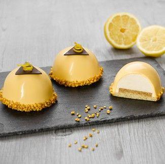 D me citron caramel condifa desserts individuels pinterest caramel citron et p tisserie - Decoration gateau professionnel ...