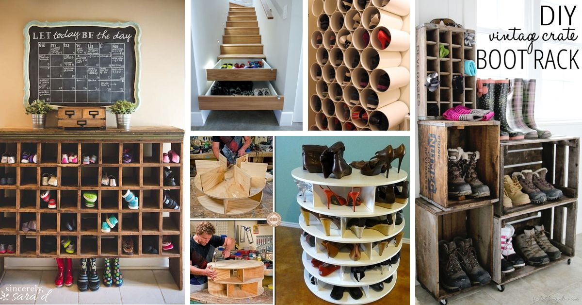 Wine Crate Shoe Storage A woman can never have too many pairs of shoes and that is a known fact! However the more pairs there are the more difficult it ... & 30+ Great Shoe Storage Ideas To Keep Your Footwear Safe And Sound ...