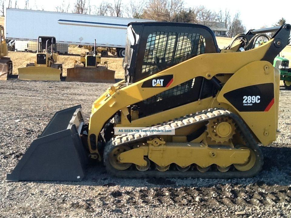 skidloader   Caterpillar 289c Skid Loader Track Loader Cat