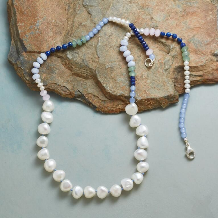 b7a3d660288bd Summer moon necklace | Stone Ideas | Jewelry, Moon necklace ...