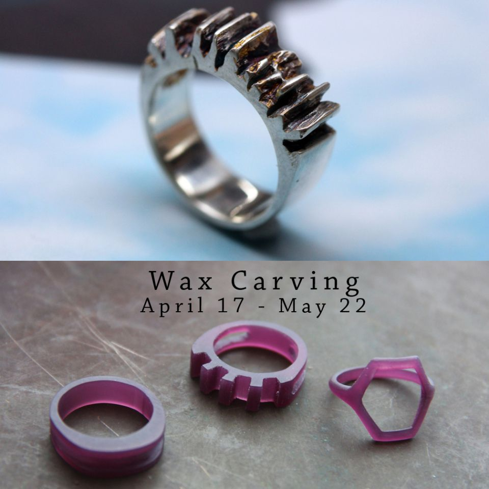 Mermaid ring wax PATTERN for lost WAX casting MOLD model