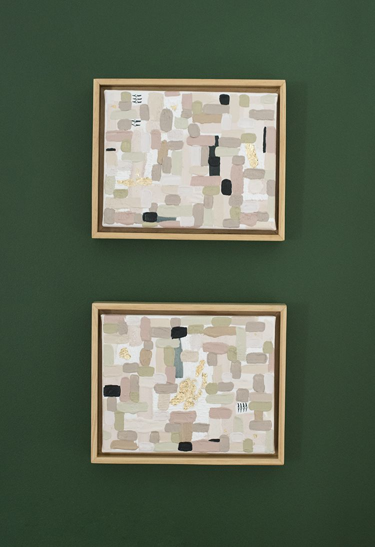 How to Make Easy Canvas Frames | Craft Ideas | Pinterest | Canvases ...