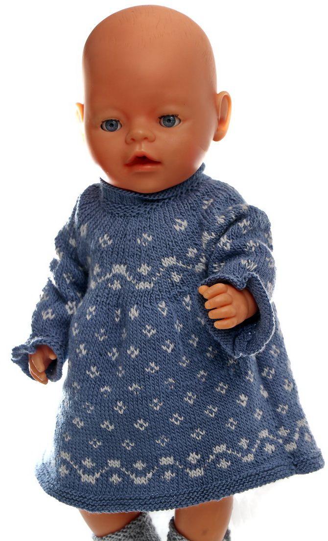 Häkeln Blaue Kleidung Junge Barbie Pullover Puppe Gestrickte