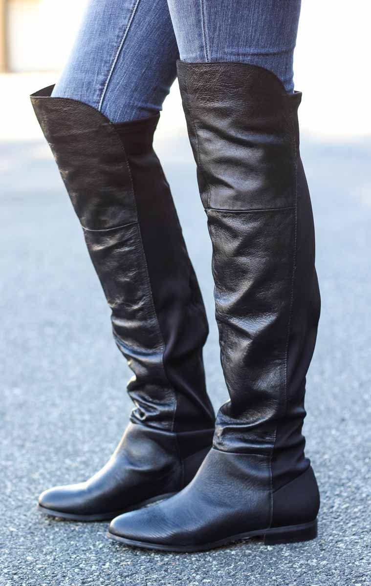 Chinese Laundry Riley Over The Knee Boot Vamped Boutique