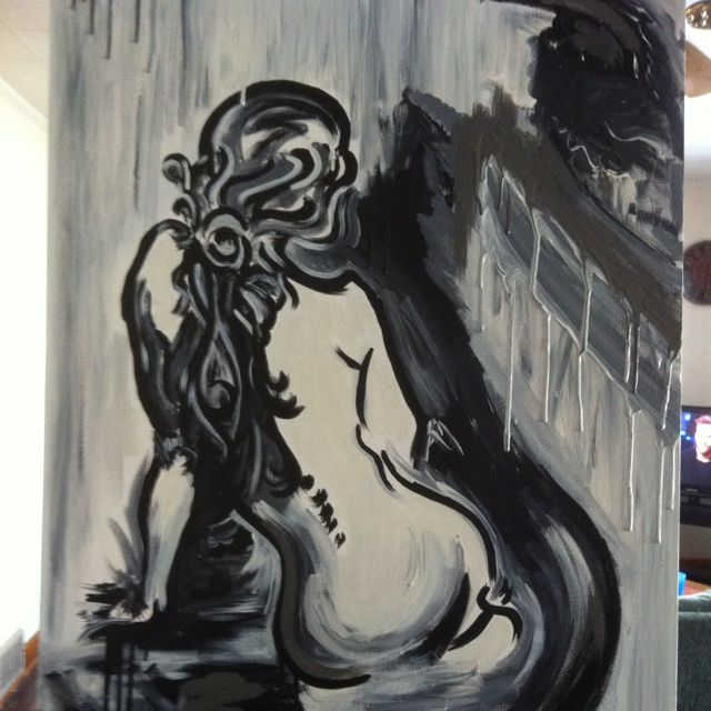 """Bringin sexy back"" Acrylic For Sale by artist shon.lieberman@gmail.com"