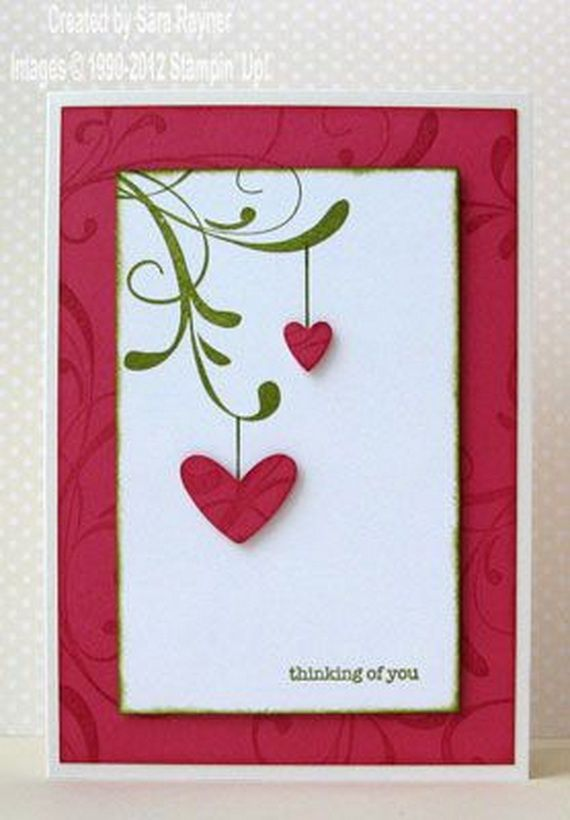 unique homemade valentine card design ideas holidays pinterest