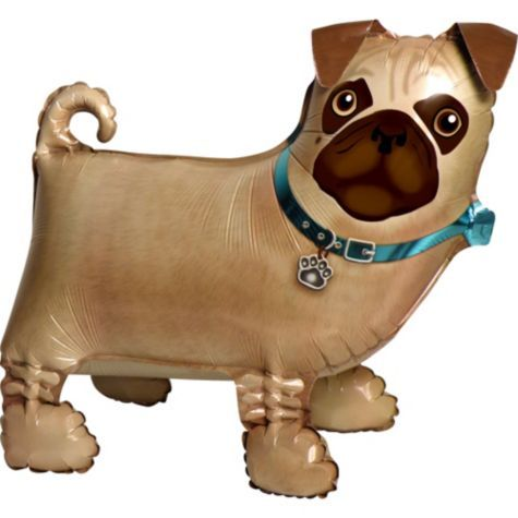 Party City - Pug Balloon  | Preppy Pug Party | Party city